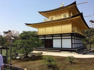 20170414金閣寺の桜02