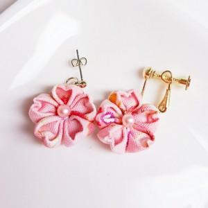 桜のピアス・イヤリング01